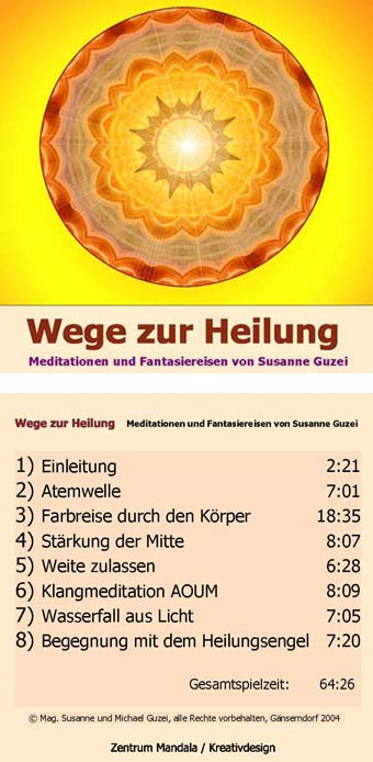 Wege zur Heilung (CD)
